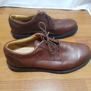 Timberland Mens Shoes Br Leather used Size 10.5M